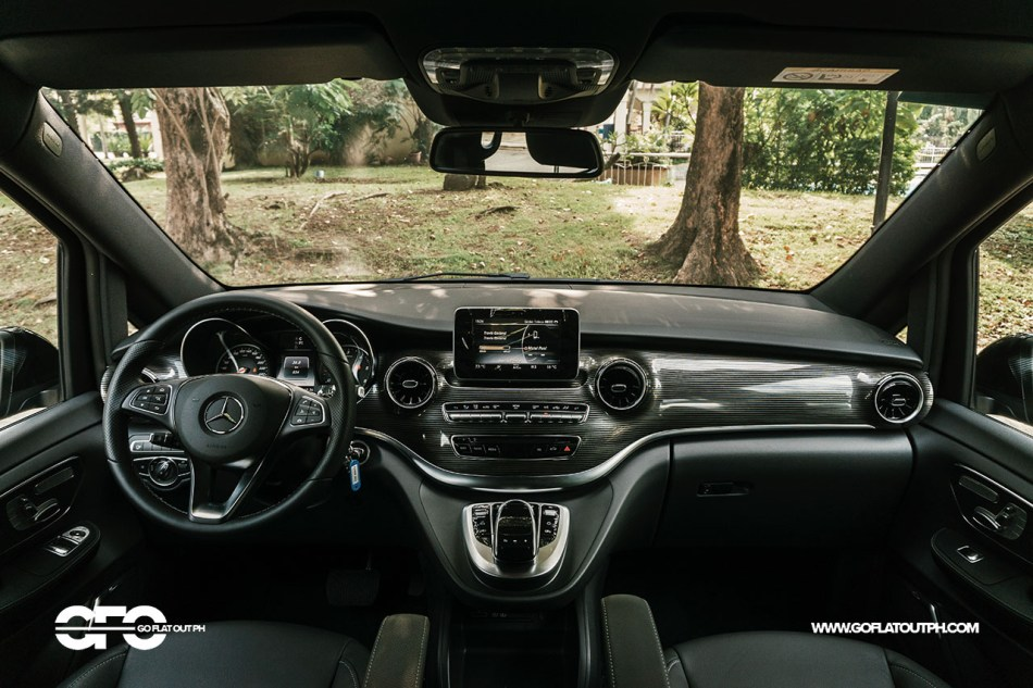 2021 Mercedes-Benz V 220d Avantgarde Long Interior