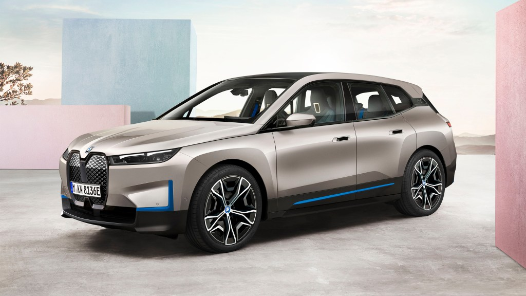 2022 BMW iX Unveiled As The Brand's First Dedicated Electric SUV