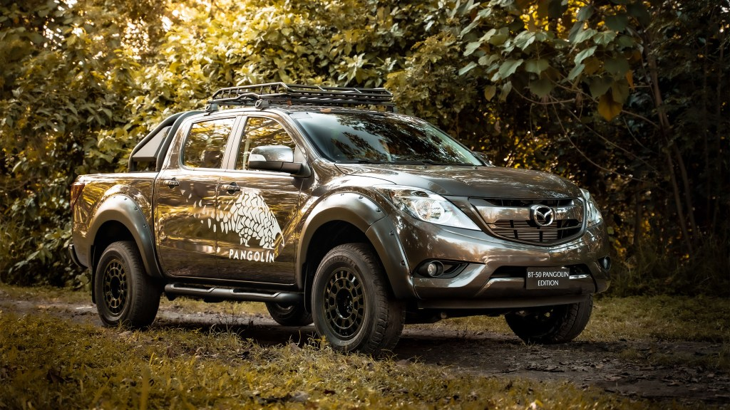 Limited Edition Mazda BT-50 Raises Awareness Towards The Philippine Pangolin