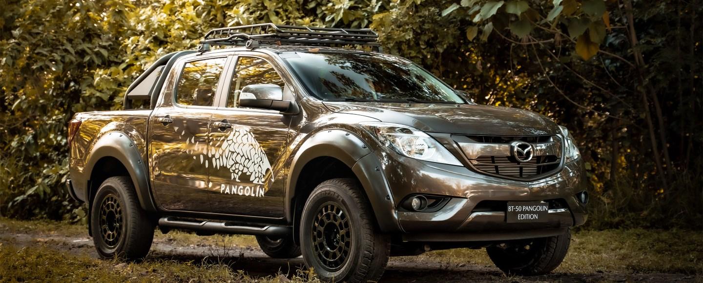 Limited Edition Mazda BT-50 Raises Awareness Towards The Philippine Pangolin