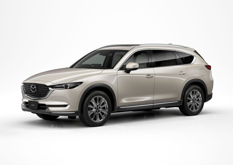 You're Looking At The Refreshed 2021 Mazda CX-8
