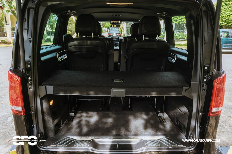 2020 Mercedes-Benz V 220d Avantgarde Long Trunk Space