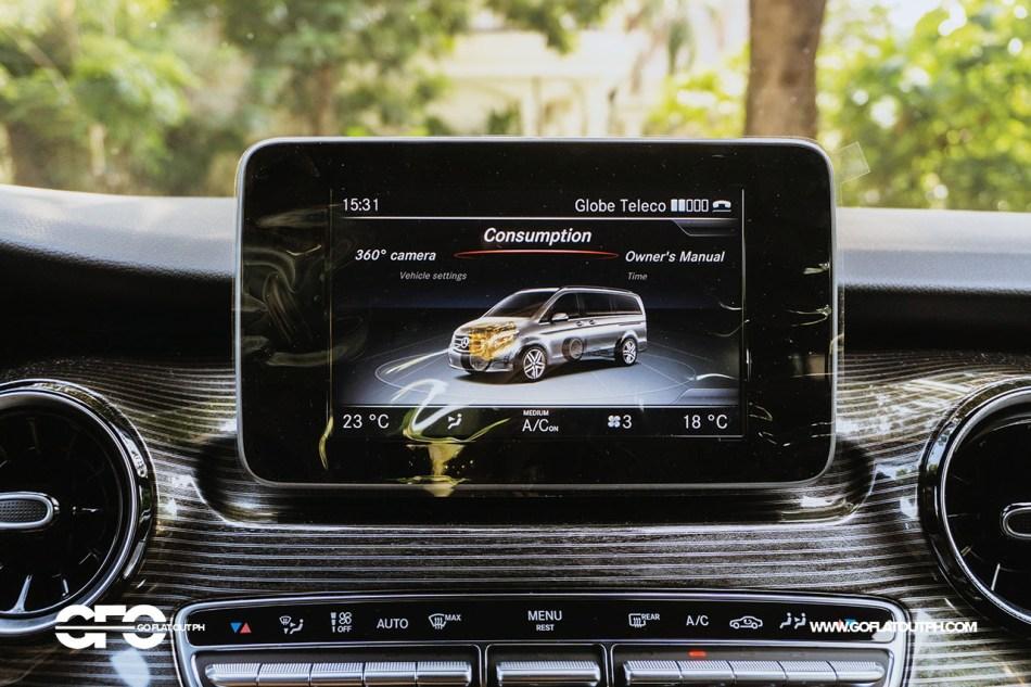 2020 Mercedes-Benz V 220d Avantgarde Audio 20