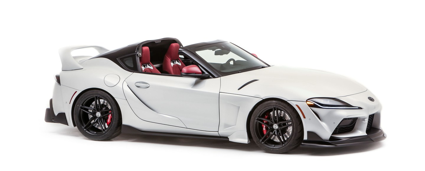 2021 Toyota GR Supra Sport Top Features A Detachable Roof