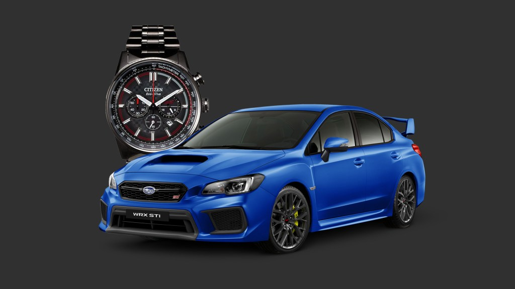 All Subarus Come With An STI x Citizen Sports Watch This Month
