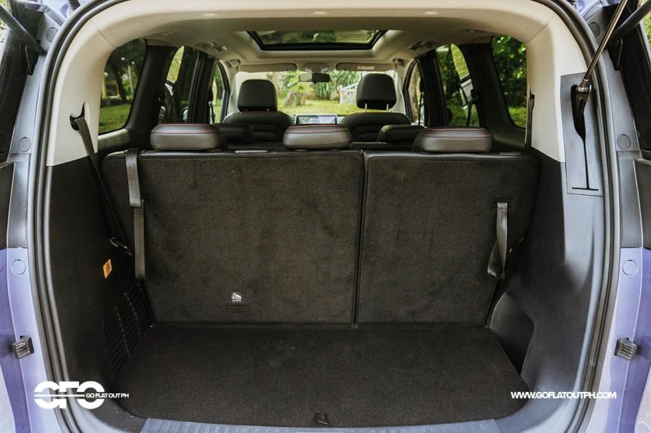 2021 Maxus G50 Premium Trunk Space