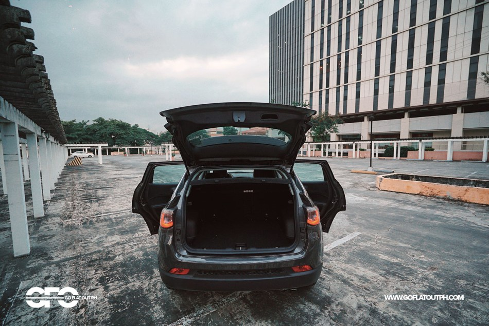 2020 Jeep Compass Philippines Trunk Space