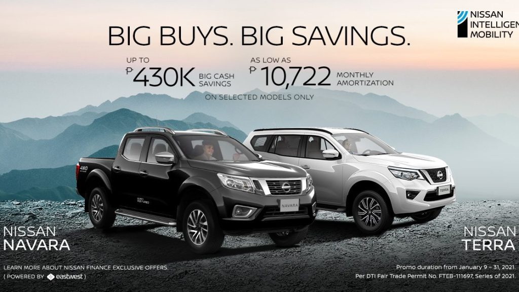 Nissan PH Is Offering Up To P430K In Discounts This Month