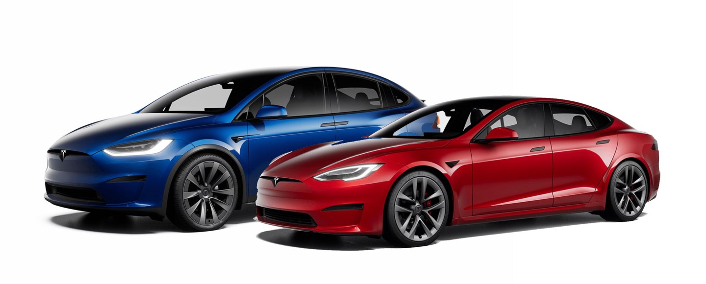 2021 Tesla Model S And X Updated With New Interior And Up To 1,100 HP