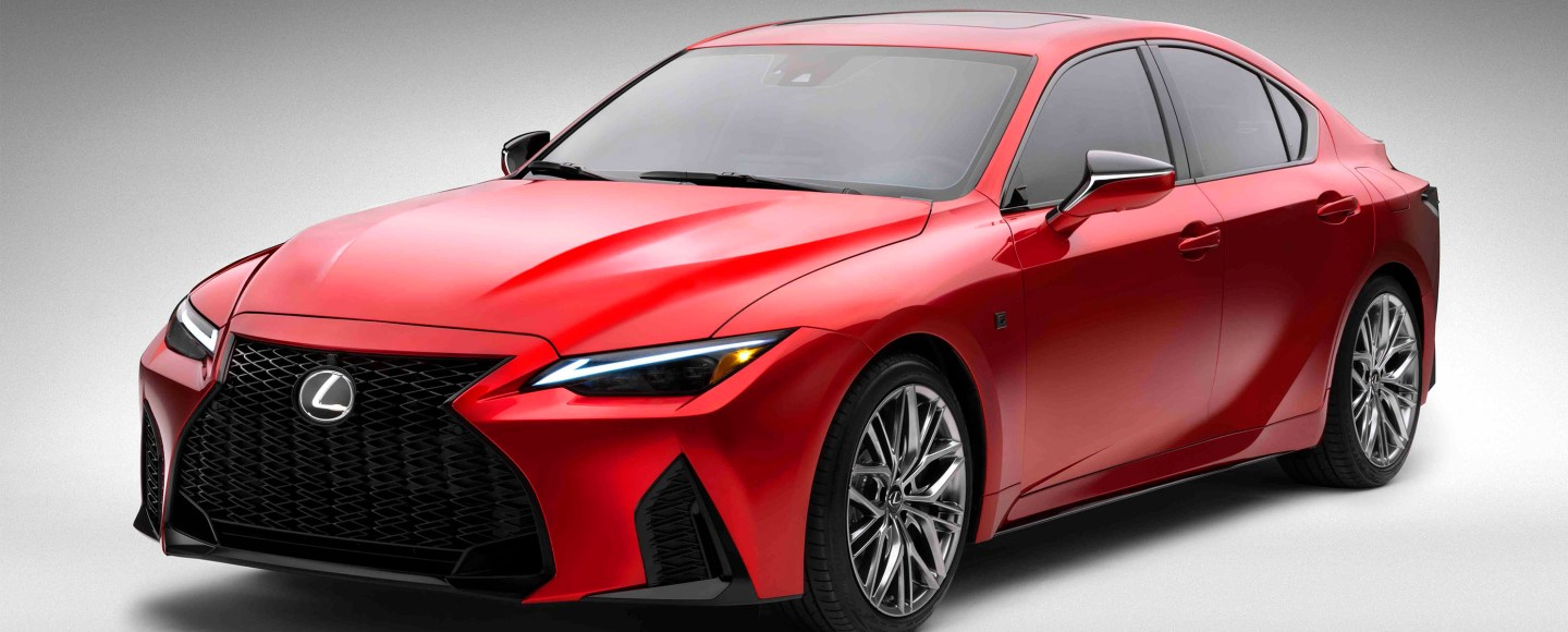 2022 Lexus IS 500 F Sport Performance Debuts With 472-HP V8