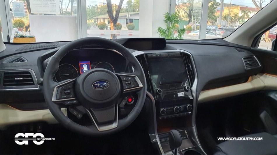 2021 Subaru Evoltis Philippines Interior