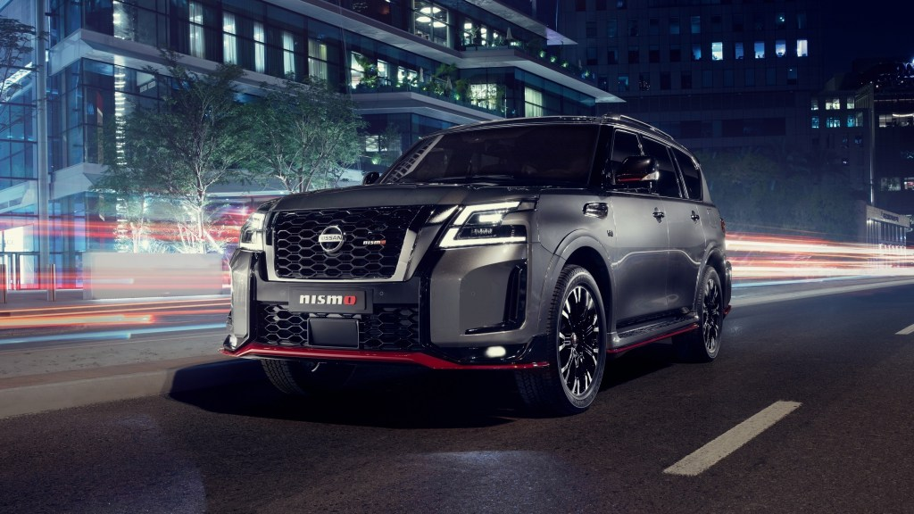 2021 Nissan Patrol Nismo Features Sportier Styling, Upgraded Handling
