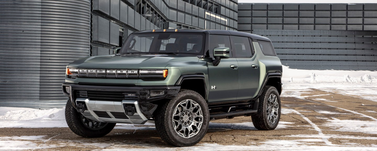 All-New GMC Hummer EV SUV Can Drive Diagonally And Has 830 HP