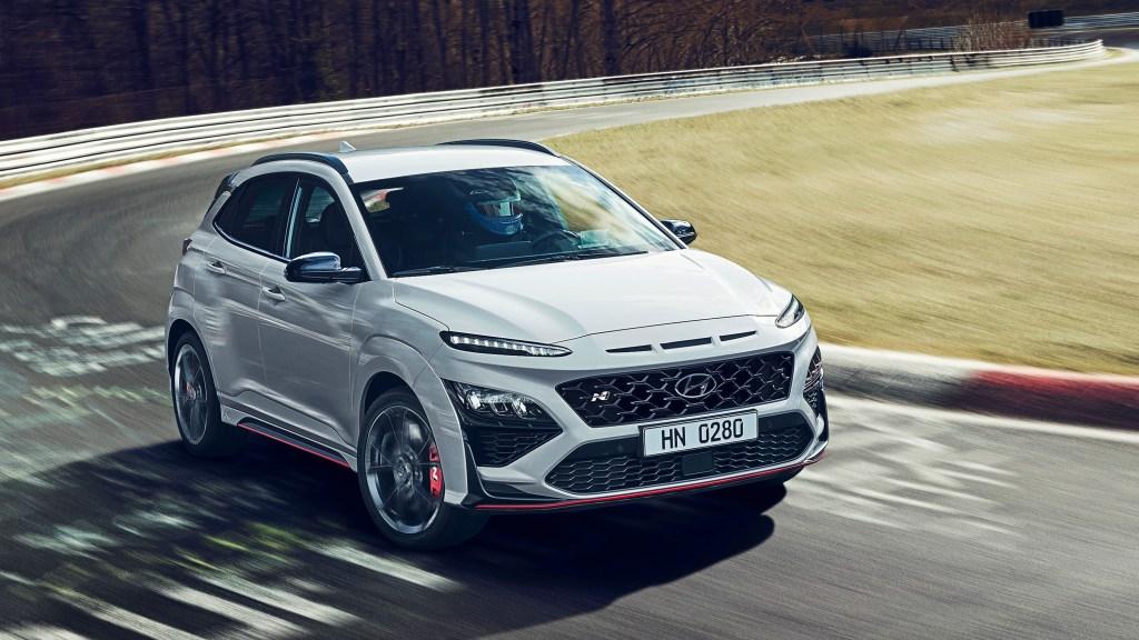 2022 Hyundai Kona N Debuts As A Track-Focused 276-HP Small SUV