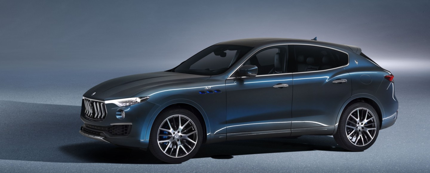 New Maserati Levante Hybrid Unveiled With 330 HP, Improved Efficiency
