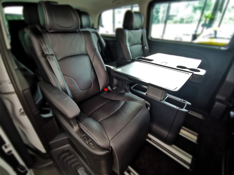 Mercedes-Benz V-Class With Luxury Seats Philippines