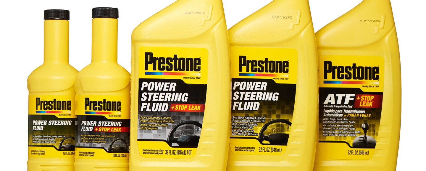 Check Out Prestone's Auto Transmission, Power Steering Fluids