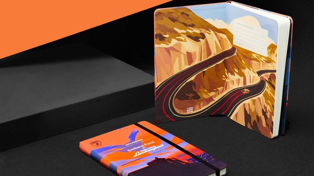 Car Enthusiasts Will Love This Moleskine Lamborghini Notebook