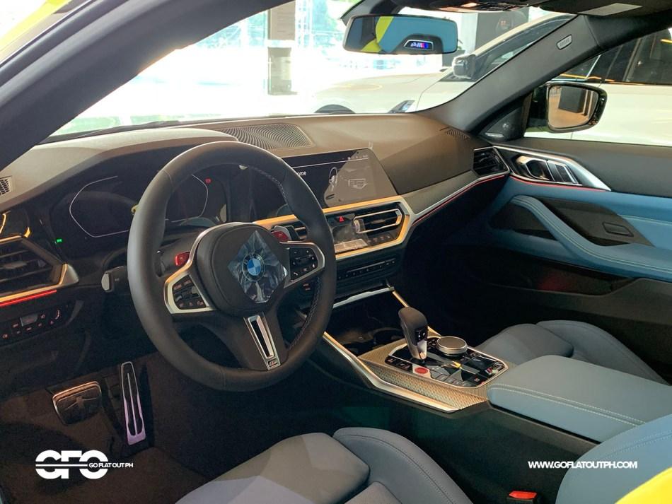2021 BMW M4 Competition Interior Philippines