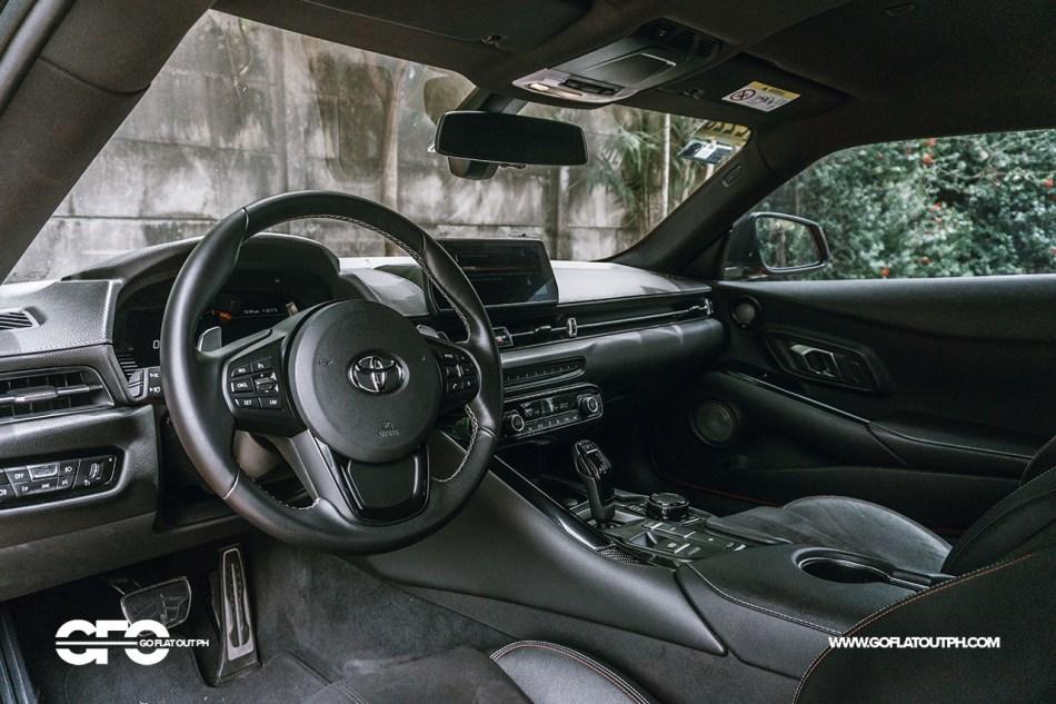 2021 Toyota GR Supra 3.0 Interior Philippines