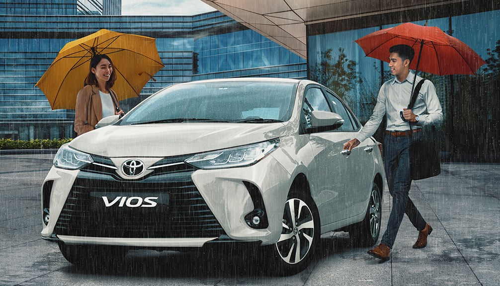 Bring Home A Toyota Vios For As Low As P7,212/Month This July