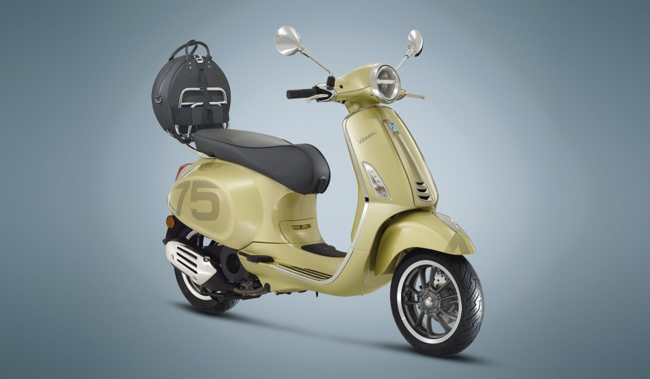 Vespa 75th Anniversary Edition Models Now On Sale In PH