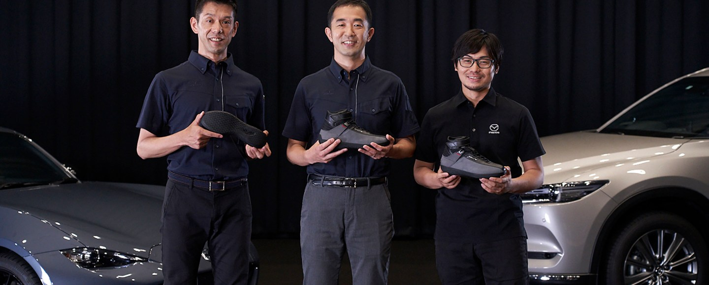 Take A Look At These Mazda/Mizuno Driving Shoes