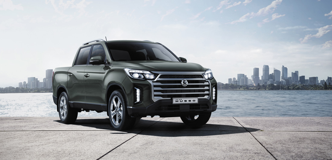 2022 SsangYong Musso Facelift Unveiled With Larger Grille, More Tech