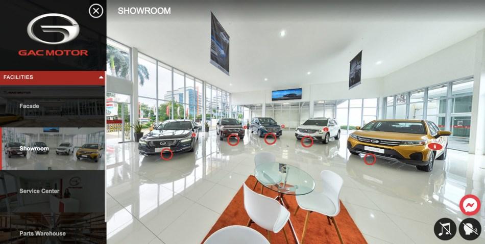 GAC Motor Philippines Launches Virtual Showroom
