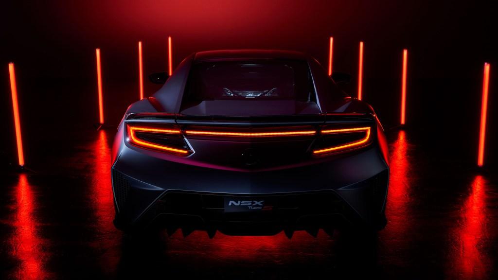 2022 NSX Type S Teased As A Last Hurrah To Honda's Hybrid Supercar