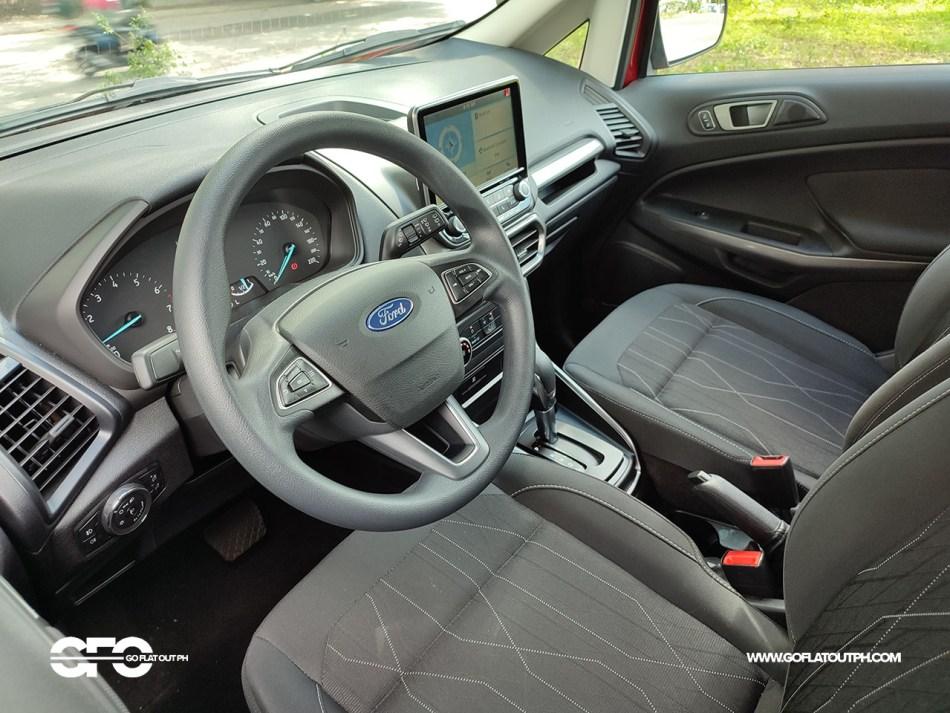 2021 Ford EcoSport Trend Philippines Interior
