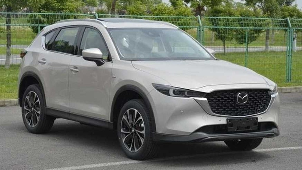 Is This The Facelifted 2022 Mazda CX-5?