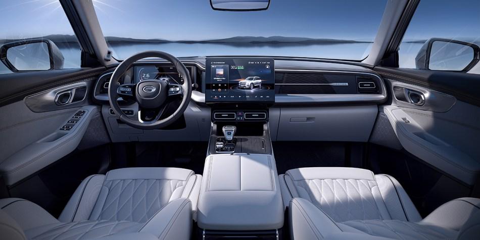 2022 GAC GS8 Interior