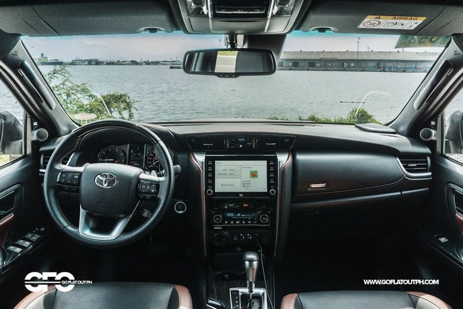 2021 Toyota Fortuner LTD Interior Philippines