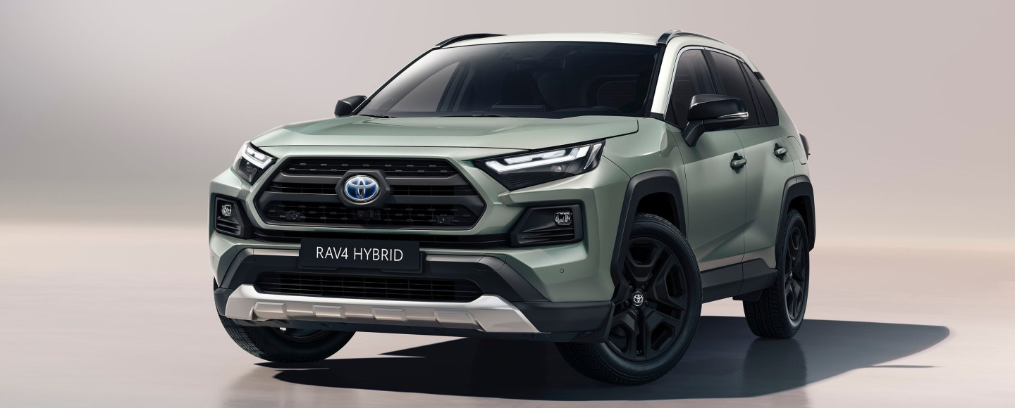 This Is Your First Look At The Facelifted 2022 Toyota RAV4