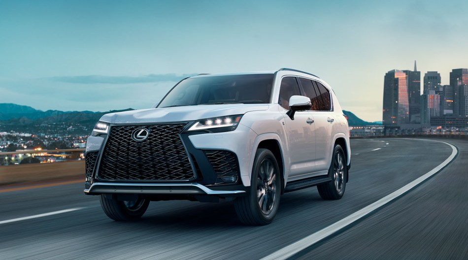 All-New 2022 Lexus LX Debuts With First-Ever F Sport And 4-Seater Variant