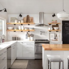 Upper Kitchen Cabinets Chef Design Conundrum Open Shelves Or Space Goflatpacks Pros Replacing The With Shelving Has Become A Popular Trend In Recent Years This Approach Helps Room Feel Little More While
