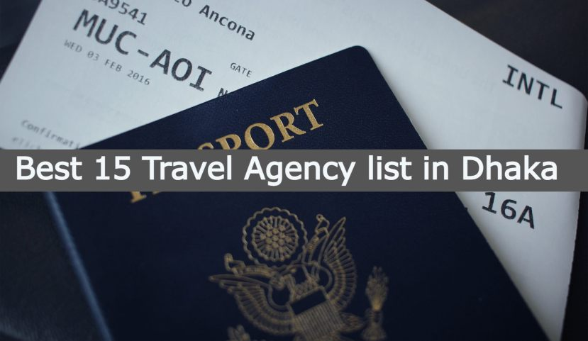 Best 15 Travel Agency list in Dhaka