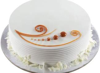 Eggless Vanilla Cake In a Pressure Cooker