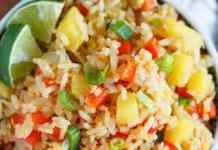 Pineapple Fried Rice - Vegan Recipe For Dinner