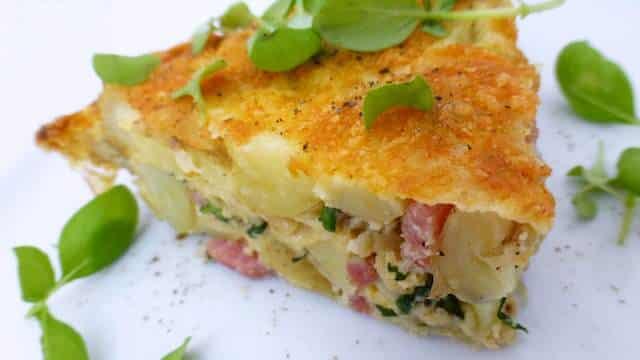 Potato Basil Frittata