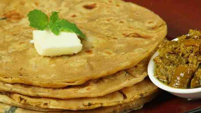 Mix Vegetable Paratha Recipe - Flatbread Stuffed with Mix Vegetable