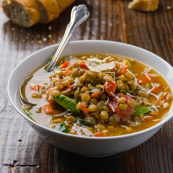 Lentil Soup With Citrous Flavour