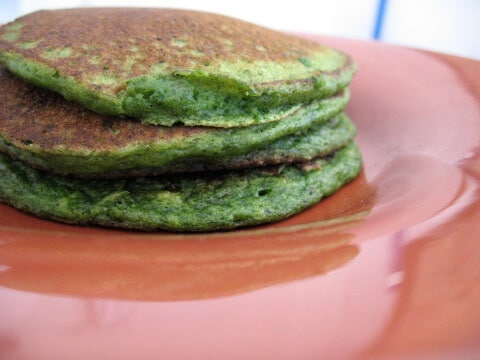 Spinach Pancakes – Morning Breakfast With Nutritious Spinach