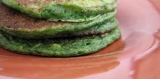 spinach pancake