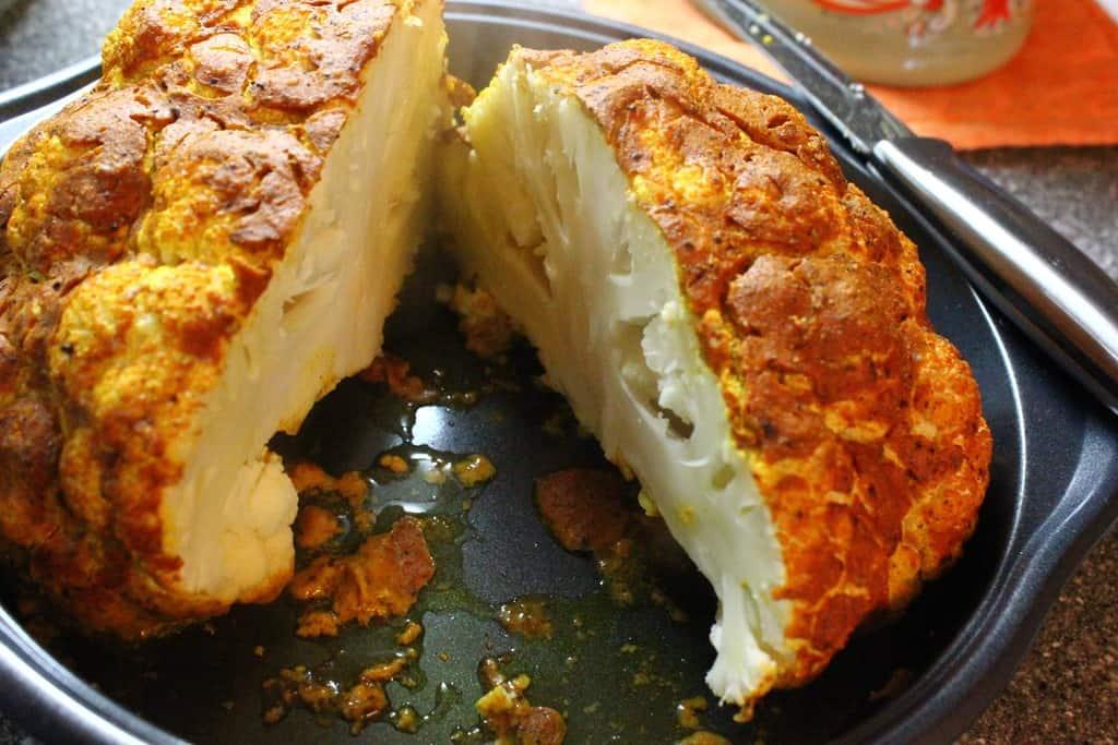 Baked Cauliflower – Easy Tandoori Cauliflower