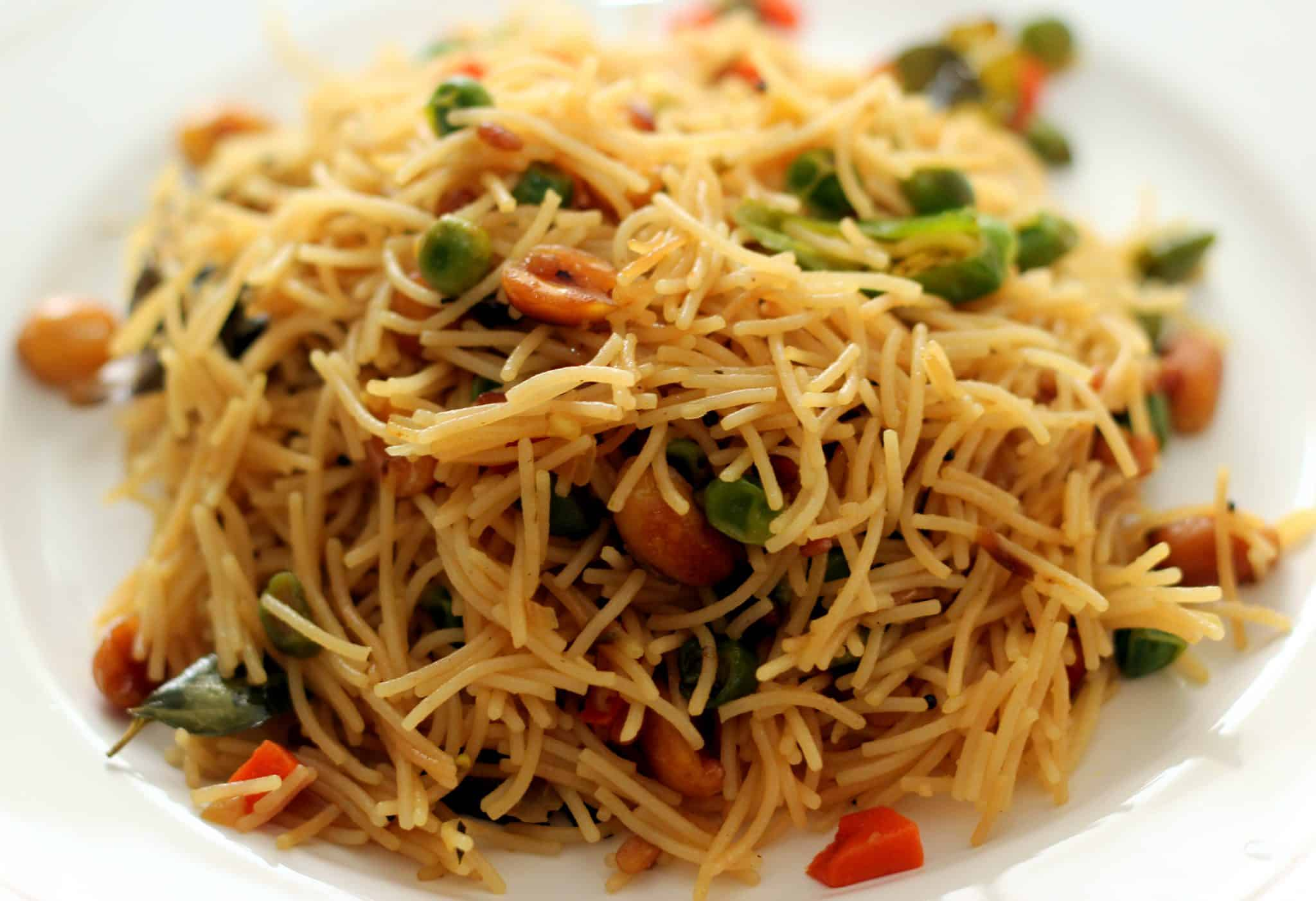 Vermicelli Upma – Easy And Healthy Breakfast