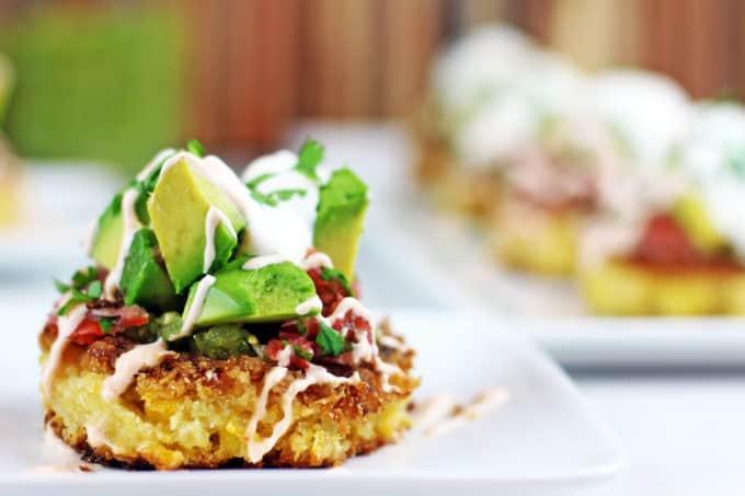 Corn Cakes – Low-Cal Vegan Dinner Recipe
