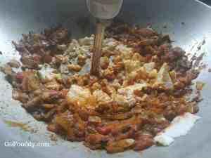 smashed tofu bhurji