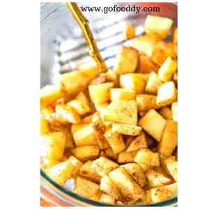 Apple Crispy Fritters